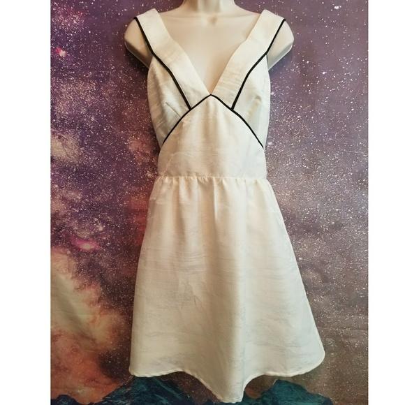 Hm Dresses Hm Black And White Backless Dress Poshmark